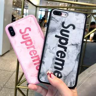 Supreme Leather S9 plus / Note 8 / Oppo R15 pro casing