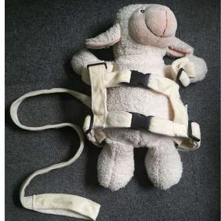 Baby/Toddler Back Pack Safety Walking Harness & Rein
