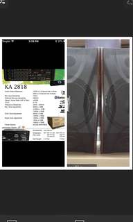 Bundle promotion Martin Roland karaoke system