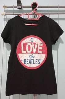 """I LOVE the ""BEATLES"""" T-shirt"