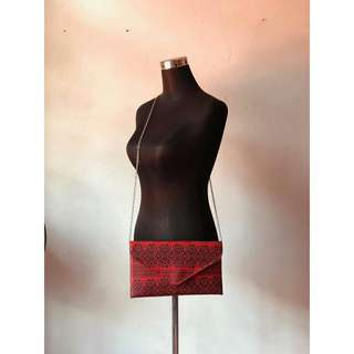 Red Sling Bag/Clutch #20under