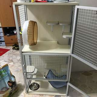 Chinchilla Cage Customization