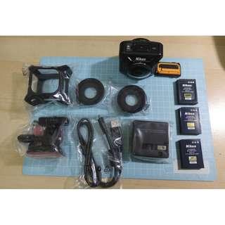 良品 Nikon KeyMission 360 運動攝影機 4K 360度