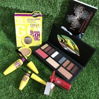 Paket Makeup Maybeline