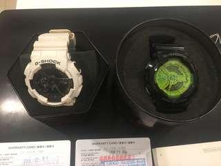 🚚 G-shock 二手手錶 防水手錶 110GW  110B 合售 可分售