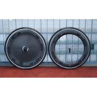 HED Clincher Wheelset (Pair without tubes and tyres)