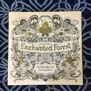 Enchanted Forest Coloring Book (BRAND NEW / US EDITION)
