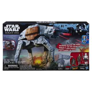 Hasbro - Star Wars: Rogue One - Rapid Fire Imperial AT-ACT - Collectible Dart-Shooting Nerf Action Figure