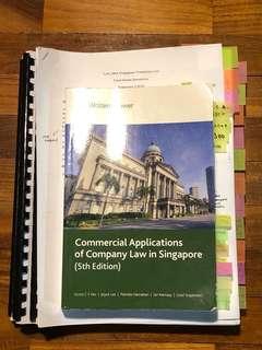 LAW2464 Singapore Company Law + Cheatsheets & Testbanks