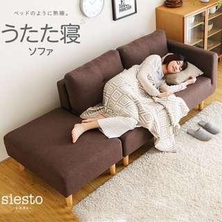 【💡新款 . 北歐 布藝沙發 組合 簡約現代 可拆洗雙人沙發躺椅 貴妃椅】