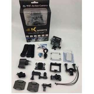 4K wifi sports camera