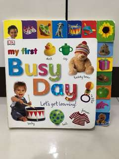 My First Busy Day by DK