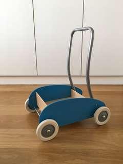 Ikea Mula Wooden Toy Pushcart / Walker