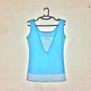 Sky Blue Short Sleeves