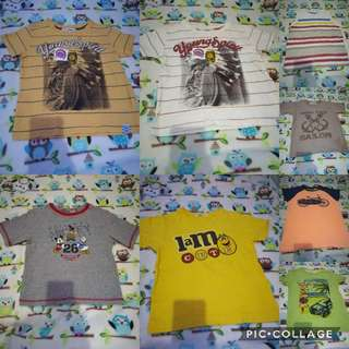 3-4 yr old preloved shirts