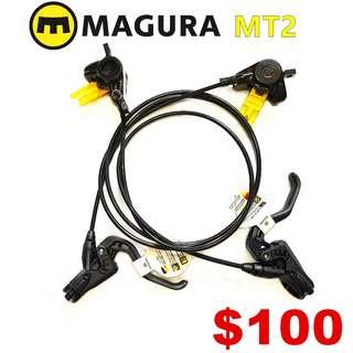 Magura MT2 Hydraulic Disc Brake--------  (Magura MT2 MT4 MT5 MT5e MT6 MT7 MT8 Trail XTR M9020 XT M8020 M8000 M785 SLX M7000 M675 M315 ) DYU
