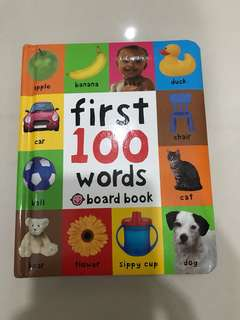 First 100 Words Pocket Size