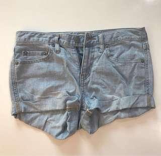 Denim shorts UK 6