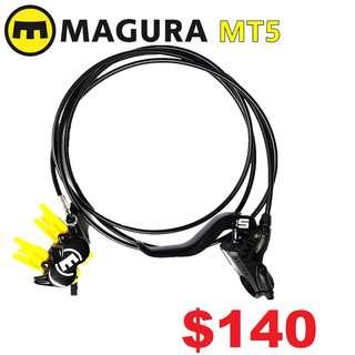 Magura MT5 4-Piston Hydraulic Disc Brake (One Side Only)--------  (Magura MT2 MT4 MT5 MT5e MT6 MT7 MT8 Trail XTR M9020 XT M8020 M8000 M785 SLX M7000 M675 M315 ) DYU