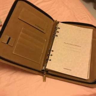 STARBUCKS exclusives 2013 planner with dustbag