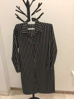 Stripes Shirt Dress