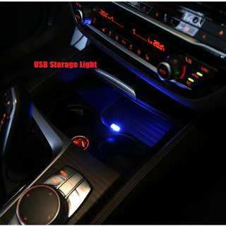 Storage USB Light For Car.