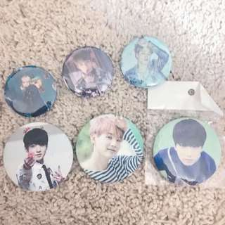 🌸 bts badges