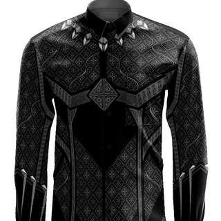 Batik Black Panther Marvel Superhero(Pre Order)