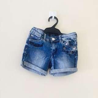 H&M cat shorts
