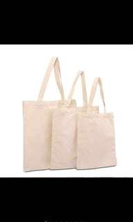 [PREORDER] Plain Canvas Tote Bag