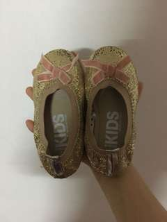 Cotton On Kids Glitter Ribbon Shoes