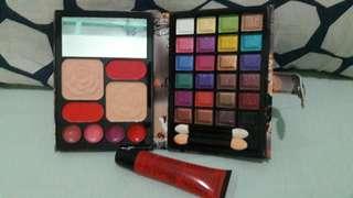 Make up kit w/lip balm