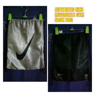 AUTHENTIC Nike Reversible Gym Sack Bag