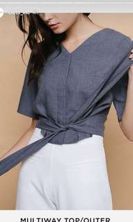 Multiway Chambray cloth Inc