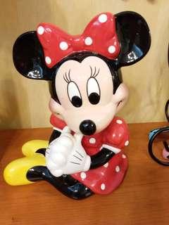 Minnie Mouse cash box 錢箱一