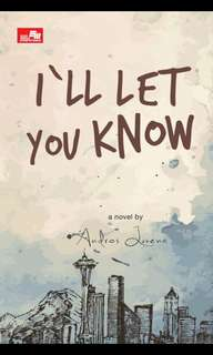 Ebook : I'll Let You Know - Andros Luvena
