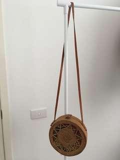 Round Rattan Bag (bigger size)