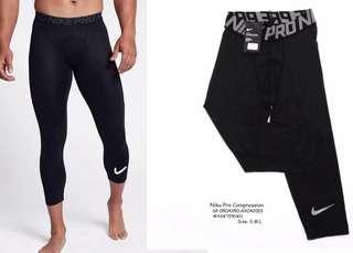 Nike pro compression size : S M L