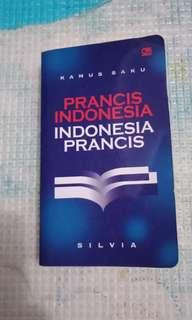 Kamus saku prancis indonesia