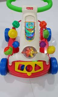 Fisher Price Walker (with box)