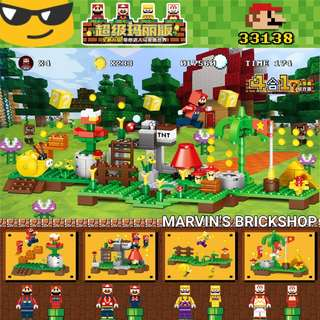 Latest MINECRAFT / Super Mario 4in1 Building Block Toys
