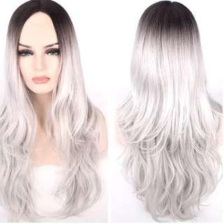 Best of meteorites silver ash grey hair wig