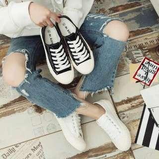 帆布鞋 平底鞋  餅乾鞋 🍘