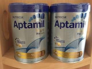 Nutricia Aptamil白金版1號奶粉