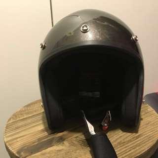 銀灰色 電單車頭盔 全新