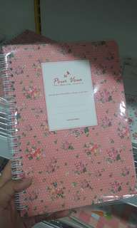Flower Note Book