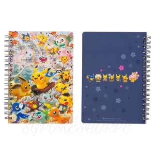 B6 RING NOTEBOOK [TOKYO DX OPENING] - POKEMON CENTER EXCLUSIVE