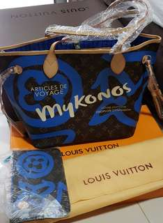 Lv Neverfull MM with pouch