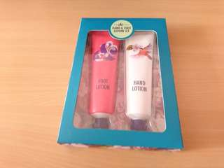 Leafy Lovely Hand & Foot Lotion Set