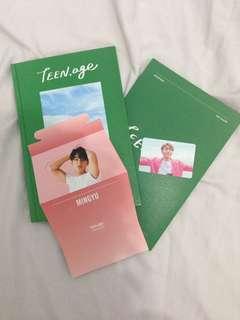 [ URGENT SALE ] SEVENTEEN TEEN AGE 2ND Album Green ver.